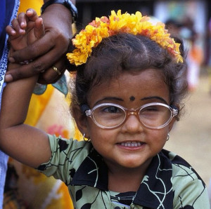 Just adorable. Photo from India.