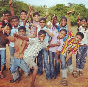 Fun and games at a Compassion center in India!