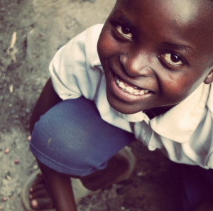 All smiles in Uganda.